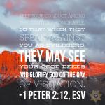 1 Peter 2:12